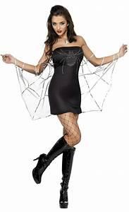 Costume halloween : femme araigne f1