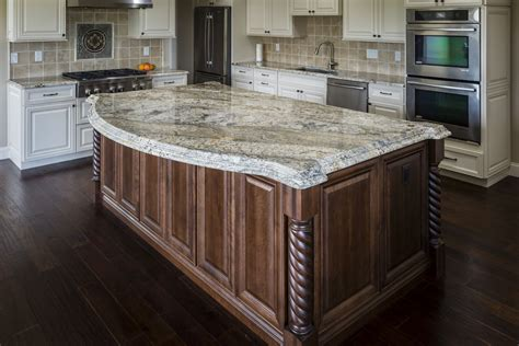 kitchen island with granite countertop granite countertops a popular kitchen choice