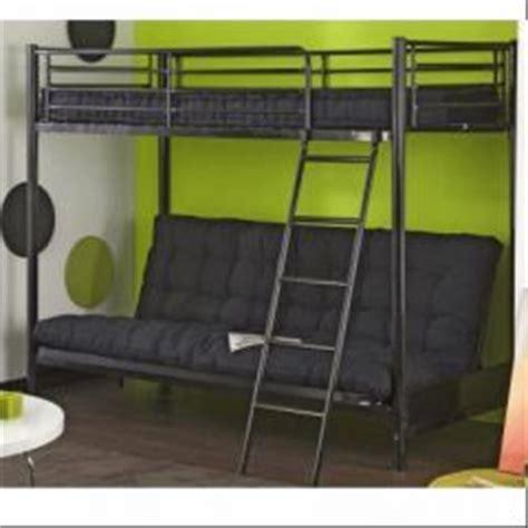 lit en hauteur avec canap lit mezzanine pour adolescent en promotion meubles