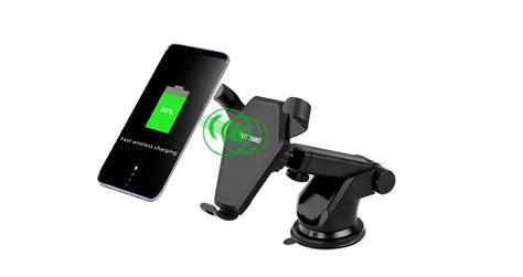 Fast Charge Car Mount Wireless Charger Windshield Type-qi