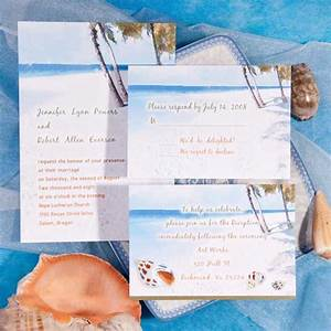 seal and send beach wedding invitations to set the tone With beach wedding invitations in a box