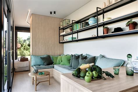 cozy container house living