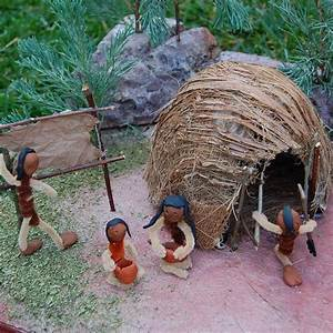 Wigwam And Indians Fun Stuff For Boys School Projects