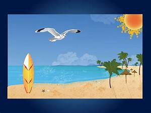 Beach Palm Tree Clip Art | ... palm trees a seagull and ...