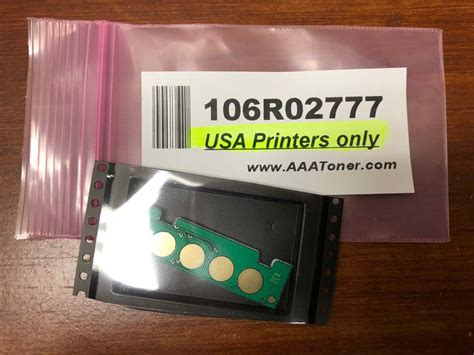 toner chip  xerox phaser  workcentre