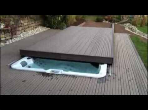 custom rolling deck option   riptide swim spas
