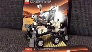 Lego 21104 NASA Mars Curiosity Rover (review & timelapse ...