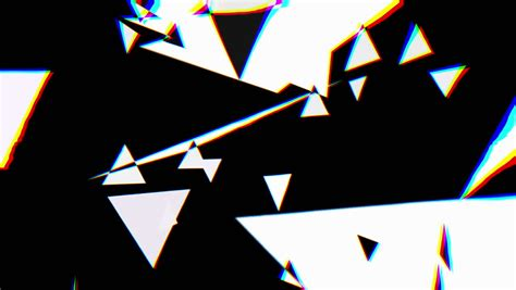 Abstract Graphic Composition Including Video Footage And