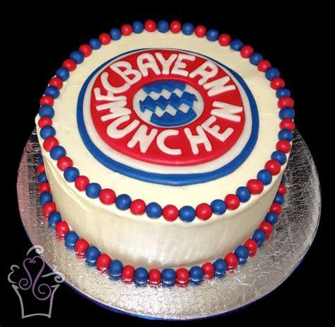 queque  el escudo de fc bayern munchen cake cakes