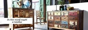 Meuble Bois Recyclé : meuble en bois recycle hoze home ~ Teatrodelosmanantiales.com Idées de Décoration