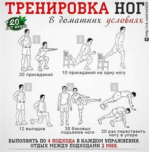 Быстро похудеть программа тренировок в домашних условиях