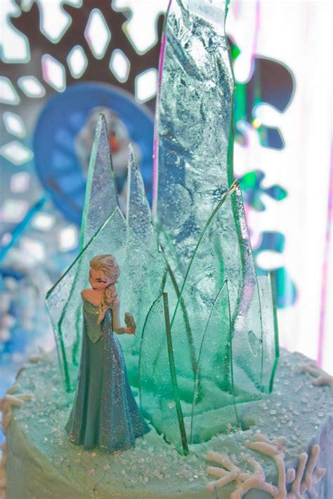 frozen elsas cake topper ice castle tutorial frozen