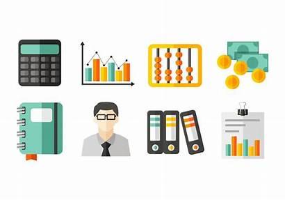 Contabilidad Icons Iconos Bookkeeping Buchhaltung Clipart Financiera