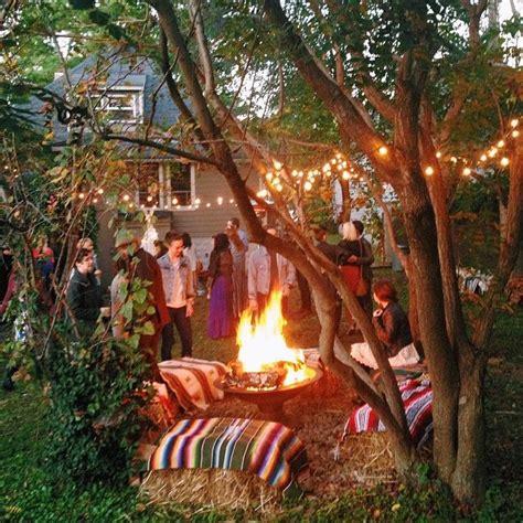 Bohemian Backyard Wedding by Bohemian Backyard Wedding Reception Nashville Wed