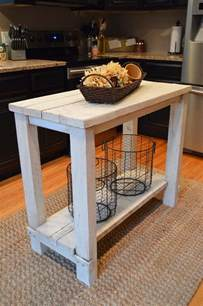 diy kitchen island table diy kitchen island ideas and tips