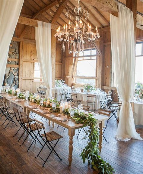 ideas  rustic wedding tables  pinterest