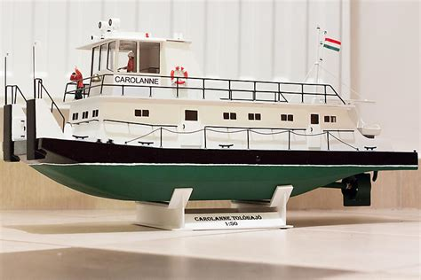 carolanne towboat plans aerofred   model