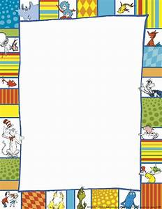 Best Dr Seuss Border #15040 - Clipartion.com