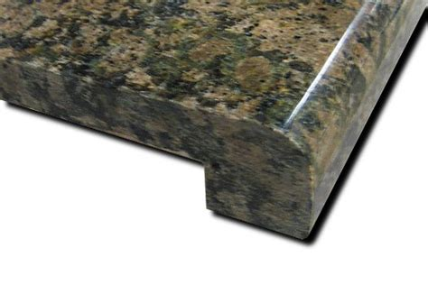 absolute black prefabricate granite countertop