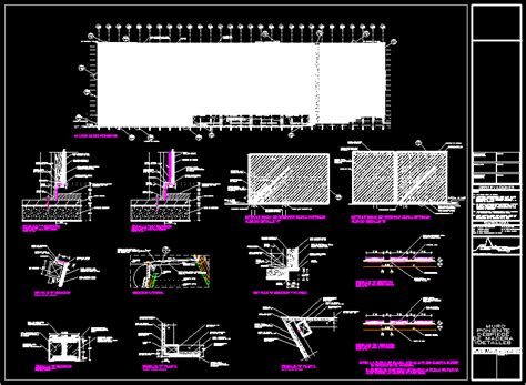 wood walls details dwg detail  autocad designs cad