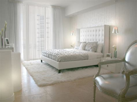 All White Bedroom Decorating Ideas, White Master Bedroom