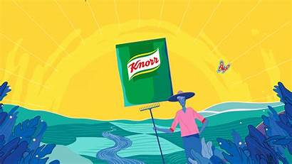 Unilever Knorr Banner Sustainable Company Farming Website