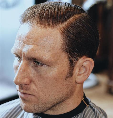mens hairstyles balding hair fade haircut