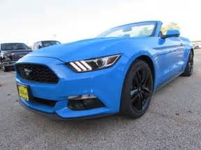 2017 Ford Mustang EcoBoost Premium 60 Miles Grabber Blue Convertible Intercooled for sale in ...