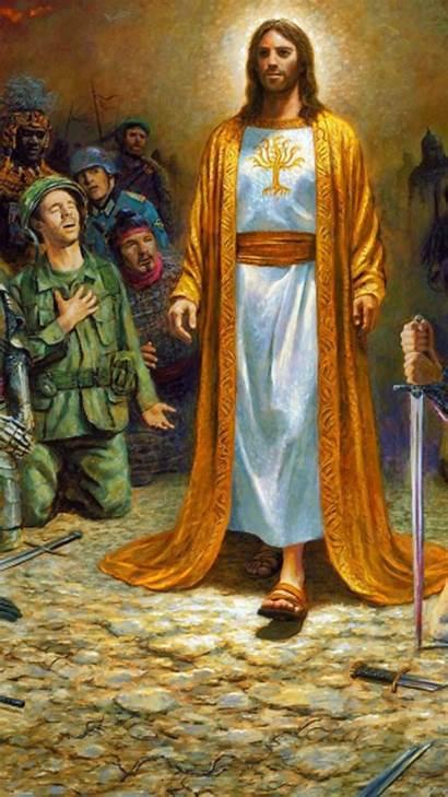 Jesus Wallpapers Christ God Cross Soldiers Yeshu