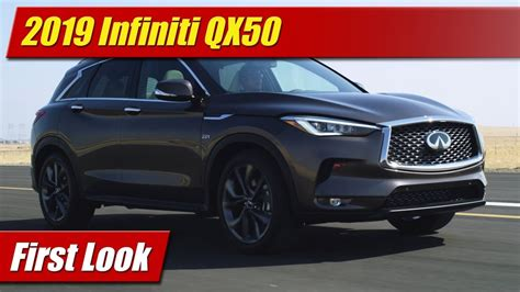 First Look 2019 Infiniti Qx50 Testdriventv