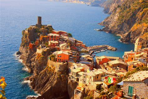 Cinque Terre Eyes Catching Place Of Italy Travel And