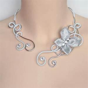 beabijoux collier mariage blanc argent strass papillon With bijoux mariage strass
