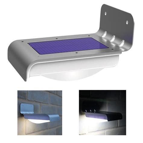 best outdoor led motion sensor light 16 led solar power motion sensor garden security l