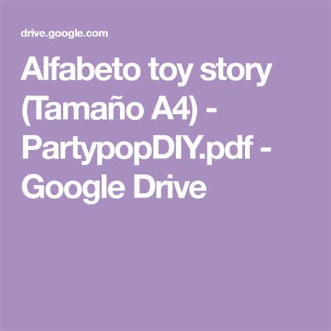 alfabeto toy story tamano  partypopdiypdf google
