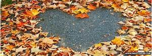 Titelbilder Facebook Ideen : autumn heart facebook cover autumn ~ Lizthompson.info Haus und Dekorationen