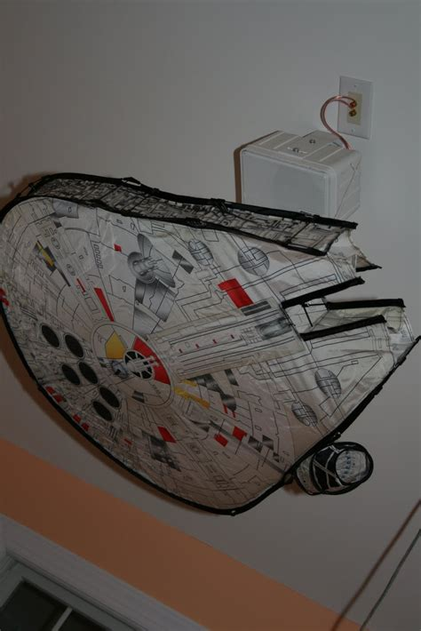 Star Wars Ceiling Fan  Personalizing Your Home With A Fan