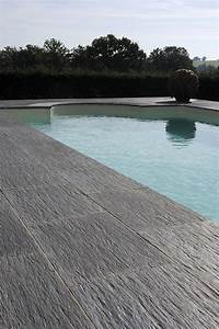 terrasse piscine carrelage With carrelage terrasse piscine