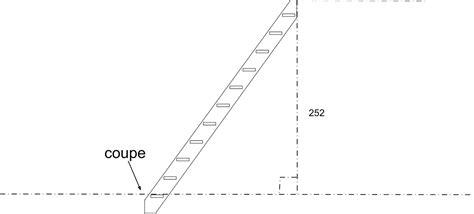 escalier de meunier dimensions echelle de meunier ou escalier quot raide quot quels conseils