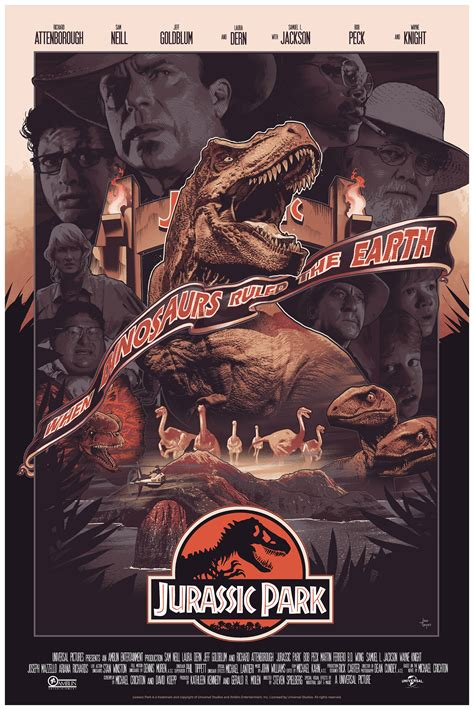 jurassic park bottleneck gallery nycc poster features
