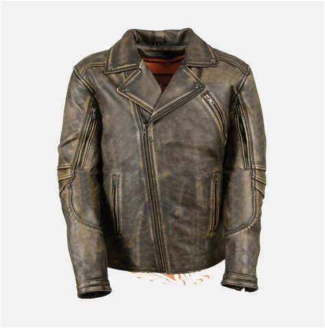 brown leather motorcycle jacket men 39 s brown distressed leather police jacket extreme