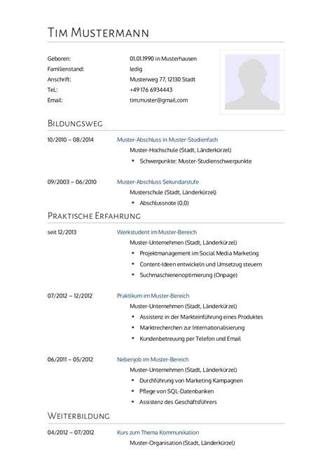 Muster Bewerbung Lebenslauf by Bewerbungsmuster Arzt Lebenslauf Designs