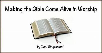 Scripture Worship Creative Bible Reading Shaking Today