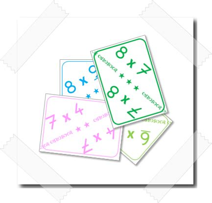 apprendre table de multiplication ce1 cartes pour apprendre les tables de multiplication charivari 224 l 233 cole