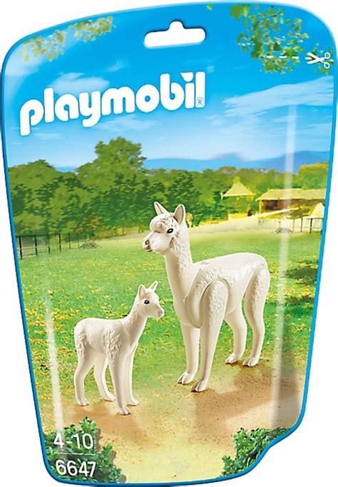 bolcom playmobil alpaca met baby playmobil