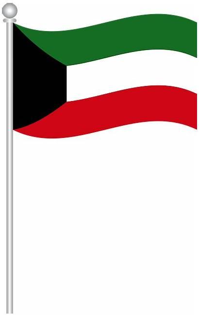 Kuwait Flag Vector Pixabay