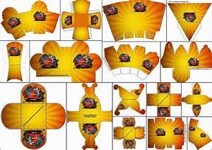 Ninjago: Free Printable Boxes - Oh My Fiesta! for Geeks