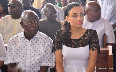Adams Oshiomhole Debunks Rumours That New Wife Is A Model