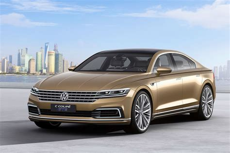 volkswagen coupe super size cc world debut for new vw c coupe gte in