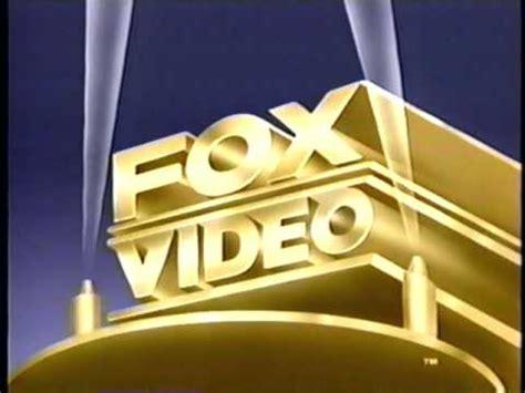Fox Video (1992) Company Logo (VHS Capture) - YouTube