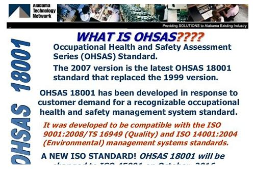 download ohsas 18001 standard